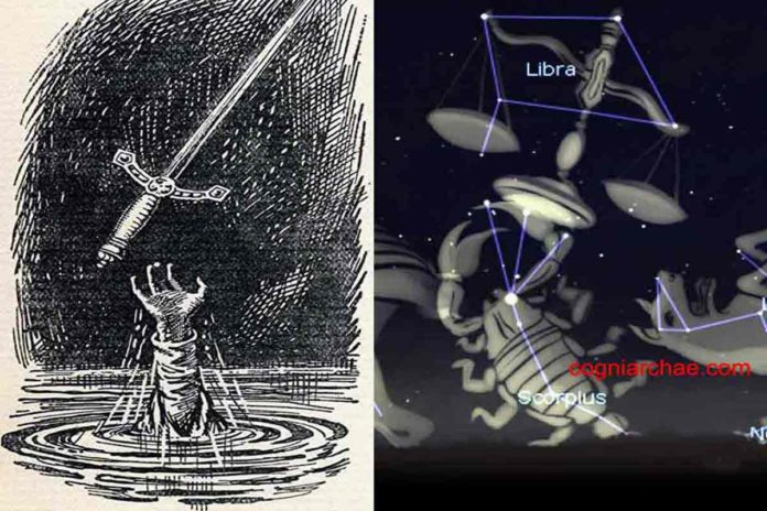 excalibur-libra-astronomy-astrology-mythology